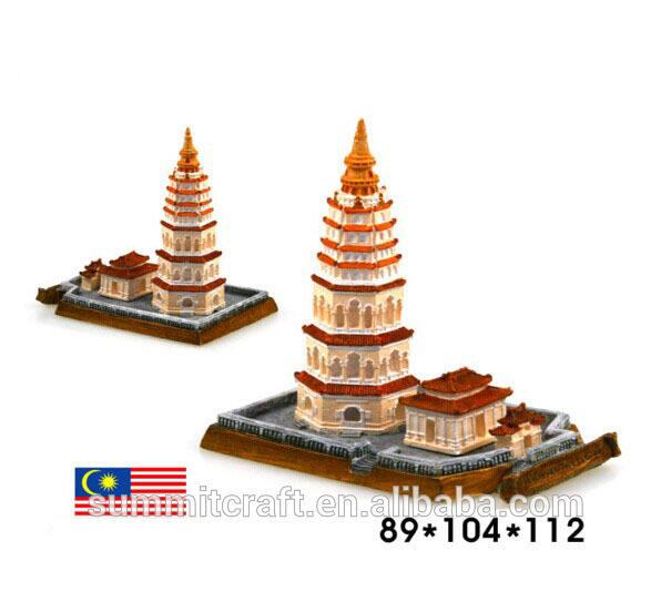 الراتنج الساخن بيع ماليزيا مكان jile المعبد الشهير بناء مصغرة
