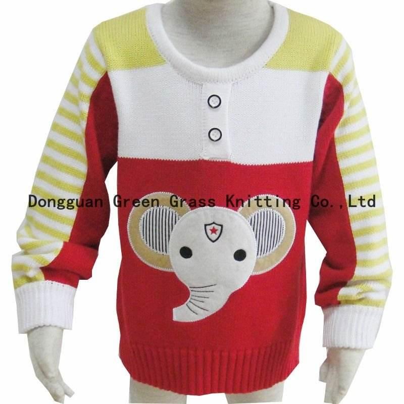 Дети свитер с вышивки