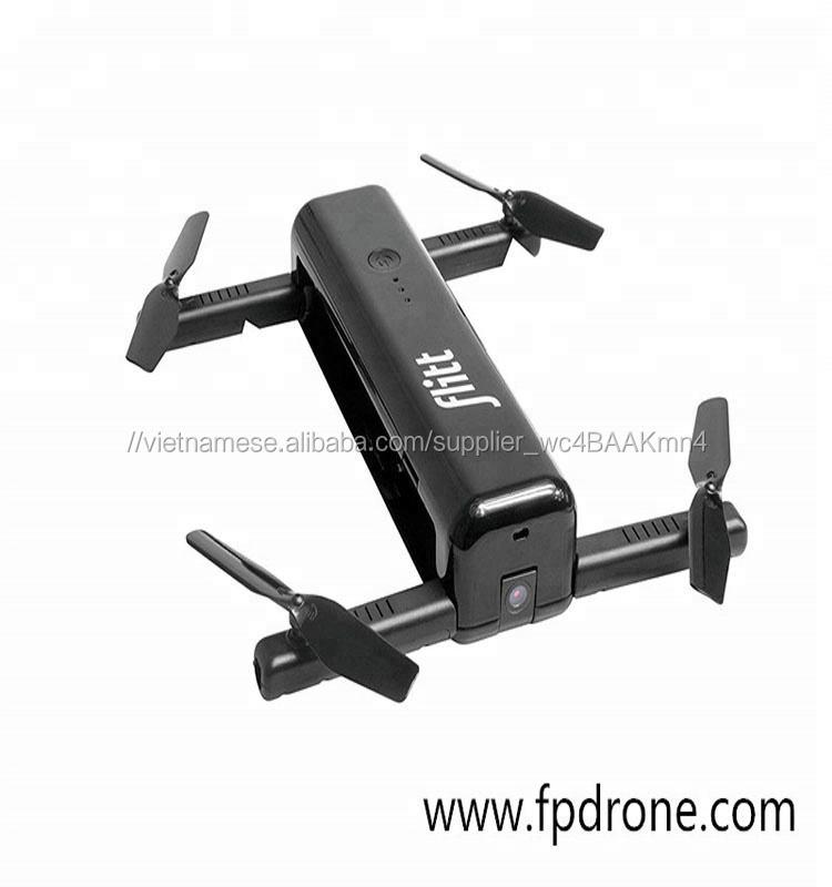 thời trang Flitt drone bán buôn có thể gập lại pocket bay không người lái với camera hd với wifi fpv quang học dòng chảy đị<span class=keywords><strong>nh</strong></span> vị