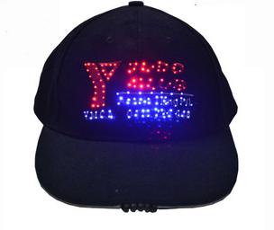 새 제품 사용자 지정 스포츠 야구 골프 태양 조명 led 모자 / 선물에 대 한 모자