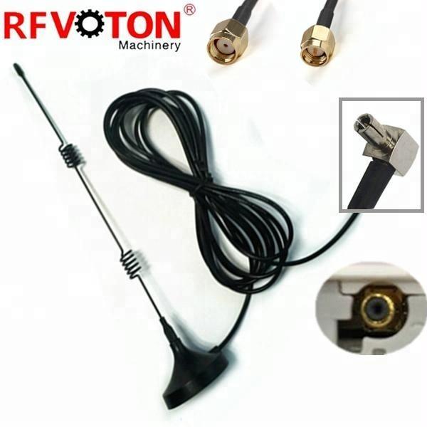 Antenne Pigtail SMA cloison Femelle à TS9 Mâle RA 30 CM RG316 USB Modems ZTE