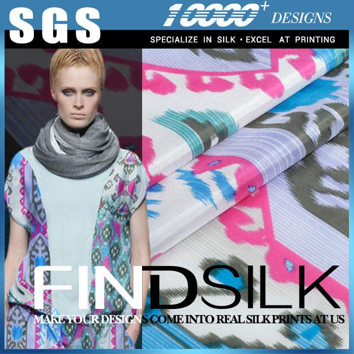 Hellosilk de alto rendimiento precio paj tela de seda made in china