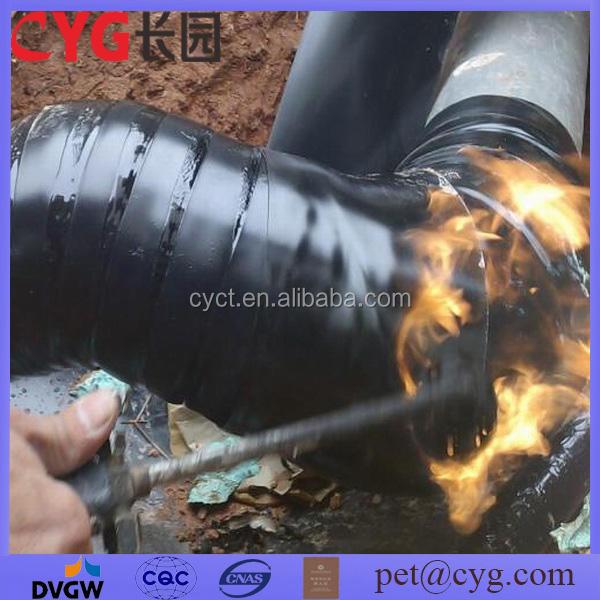 Подземный трубопровод упаковка покрытие