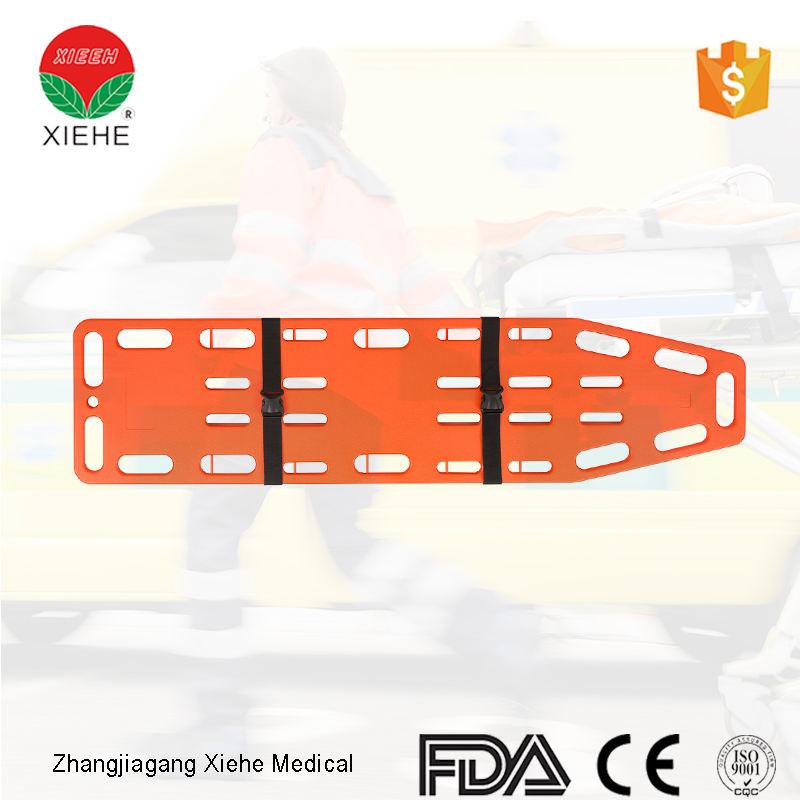 Hospital plásticos Junta Spine emergencia especificaciones para primeros auxilios
