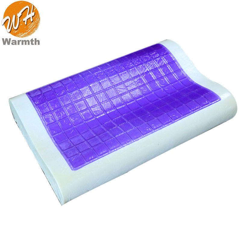 Ajustable de espuma de memoria plana almohada de espuma