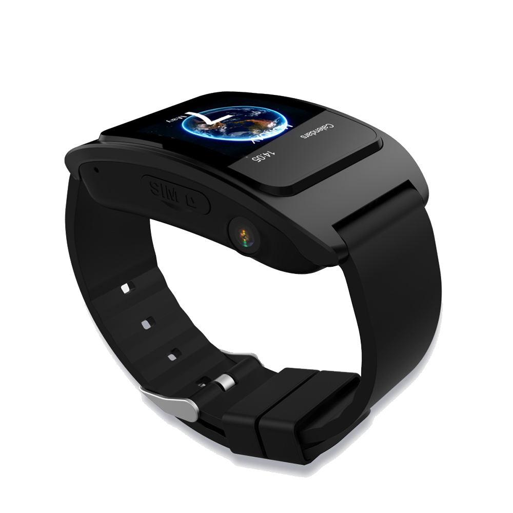 TFT exibição da freqüência cardíaca pressão arterial de cuidados de saúde para idosos rastreador gps relógio inteligente