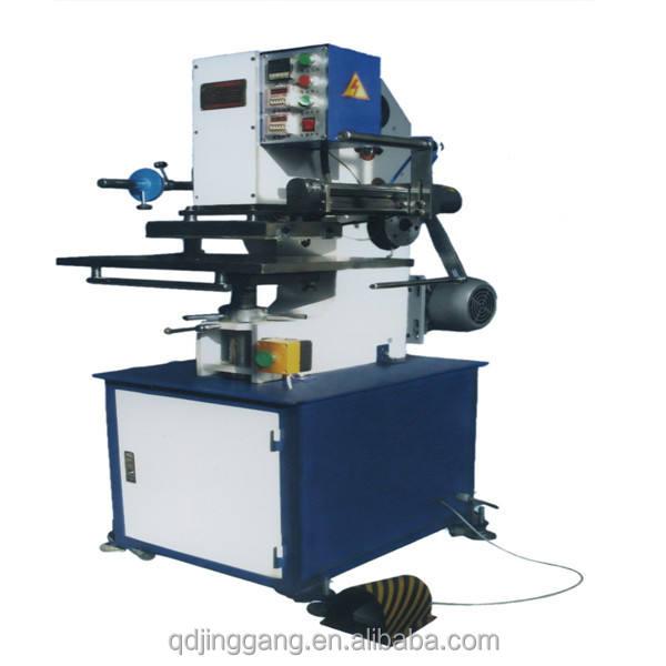 TJ-56 elektrik düğün kartları yaldız basın/kaliteli makinesi/fabrika fiyat
