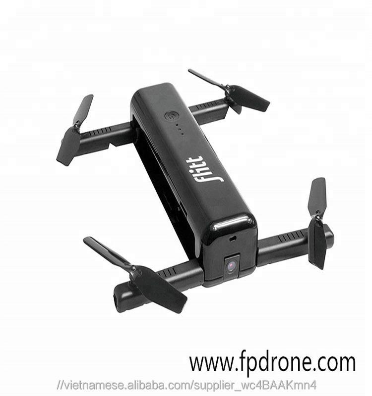 2018 new hot thời trang Flitt drone gập lại pocket bay không người lái với camera hd với wifi fpv quang học dòng chảy đị<span class=keywords><strong>nh</strong></span> vị