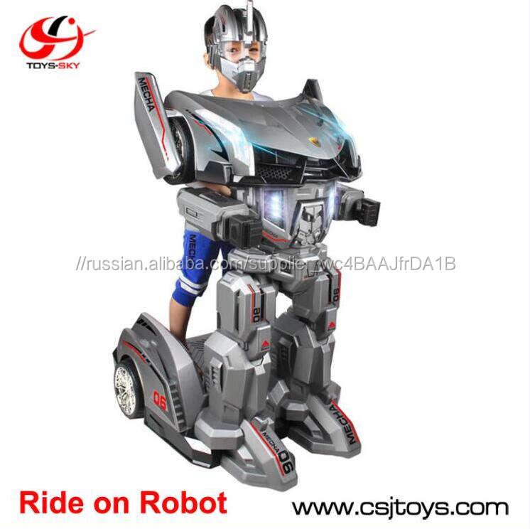 Toysky Mecha робот рыцарь дистанционного управления ездить на игрушки робот <span class=keywords><strong>автомобиль</strong></span> baby carrier Китай для детей