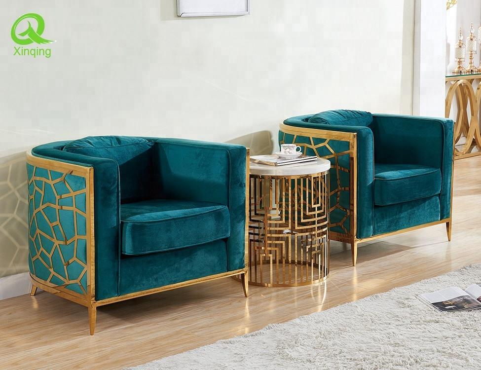 EF-017 nuevo diseño de ocio sofá silla en tela, color múltiple para referencia