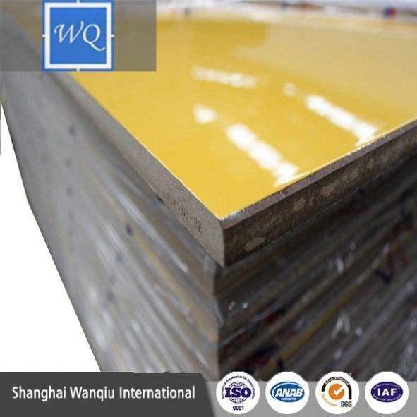 9mm, 16mm, 18mm de alto brillo tablero 740-750 KGS/M3 uv mdf construir melamina muebles de gabinete de la cocina