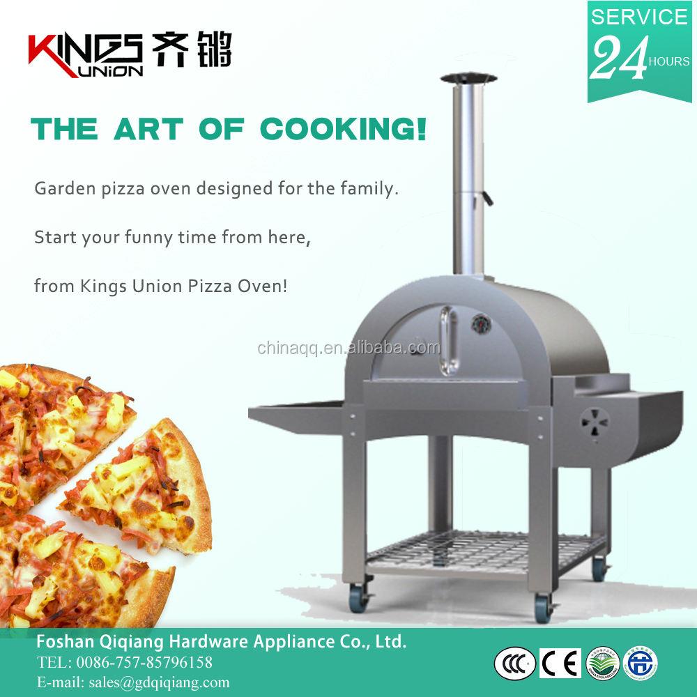 Reyes pasados unión horno de pizza refractaria aislamiento KU-006G