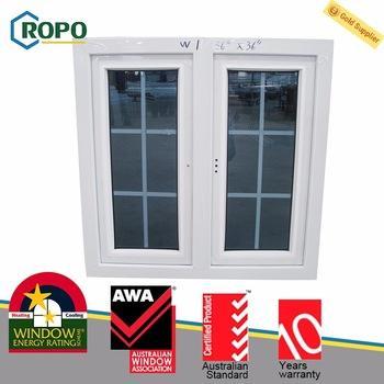 Promozionale <span class=keywords><strong>di</strong></span> alta qualità pvc finestra griglia finestra griglia disegno finestre a battente