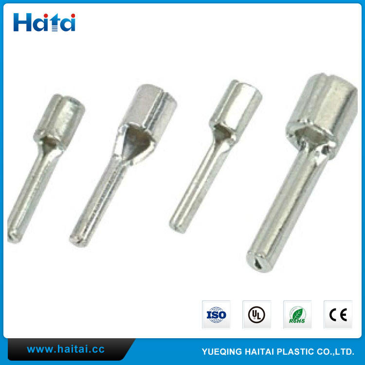 Haitai Kostenlose Proben Kupfer Naked Nadel TZ Typ Nicht isolierte Pin Terminals