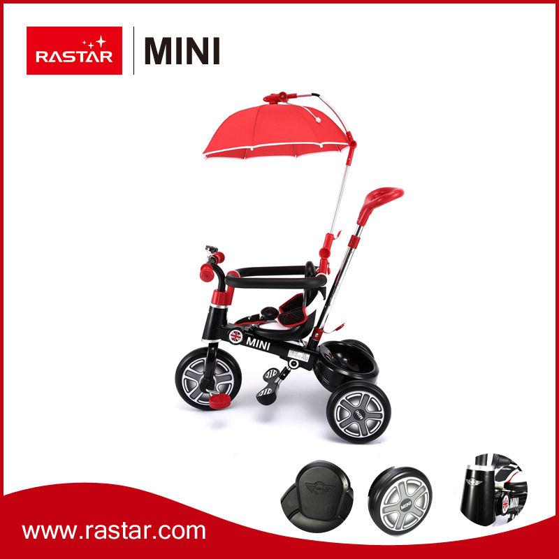 Einzigartiges design kunststoff dreirad kinder faltrad für spaß
