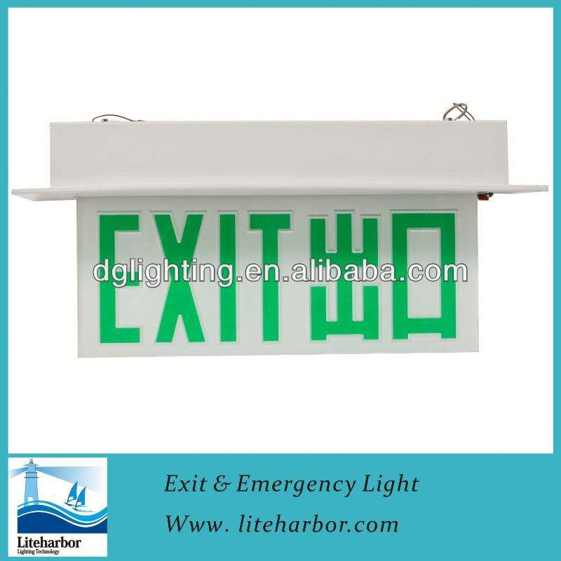 ahorro de energía led dp de la lámpara led luz de emergencia recargable