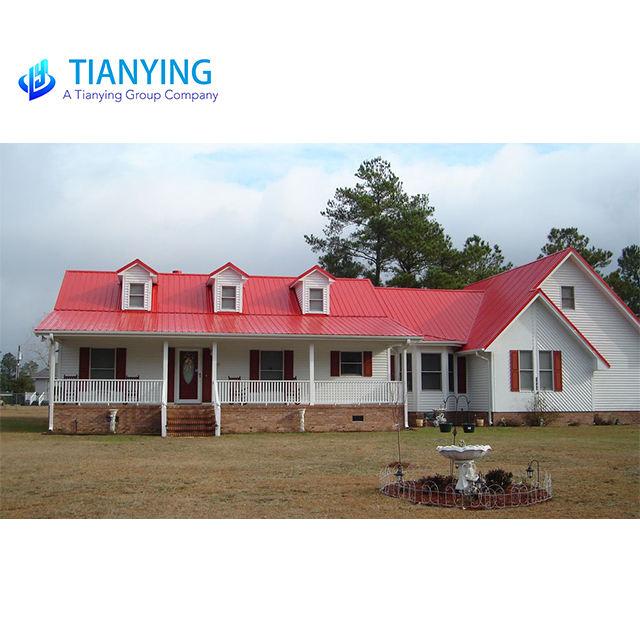 강 frame 조립식 집, 조립 된 것합니까 housing, best quality 조립식 집