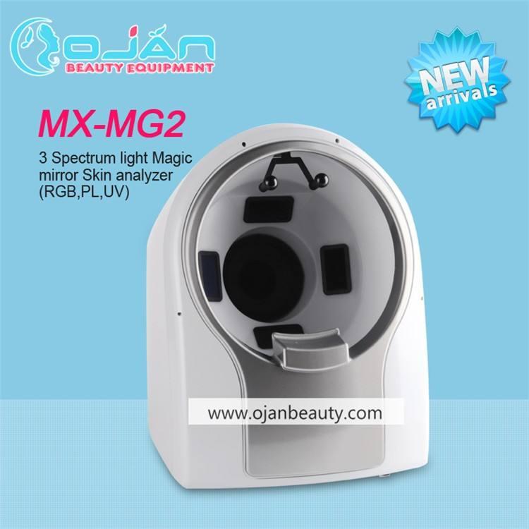 3 Спектры Света 3D волшебное зеркало анализ кожи машина MX-MG2