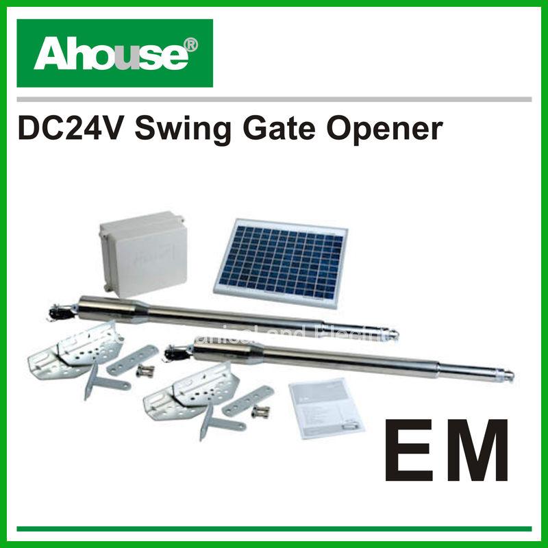 CE à télécommande d'opérateurs de porte d'oscillation de Soalr de portes d'usine d'ouvreur de porte d'oscillation de double de q
