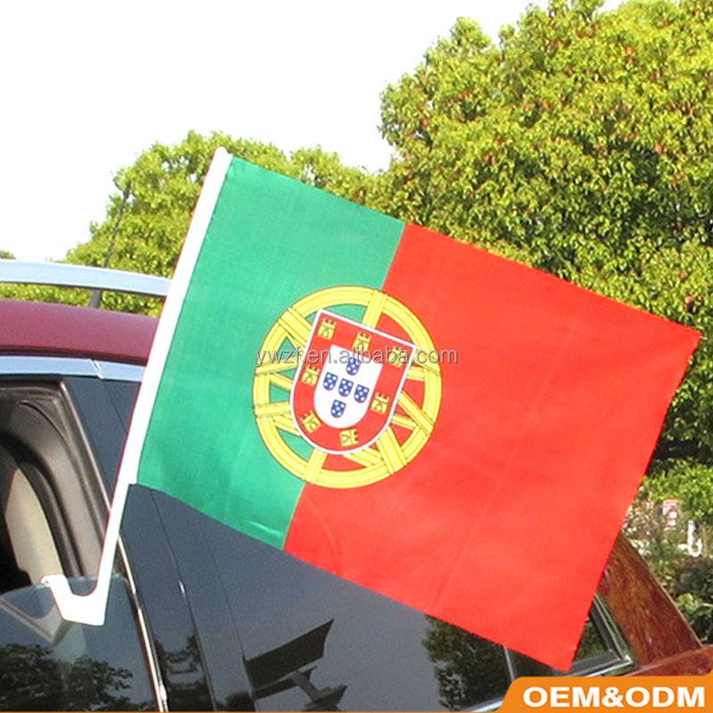 2018 Россия Кубок Мира окна автомобиля флаг Португалии