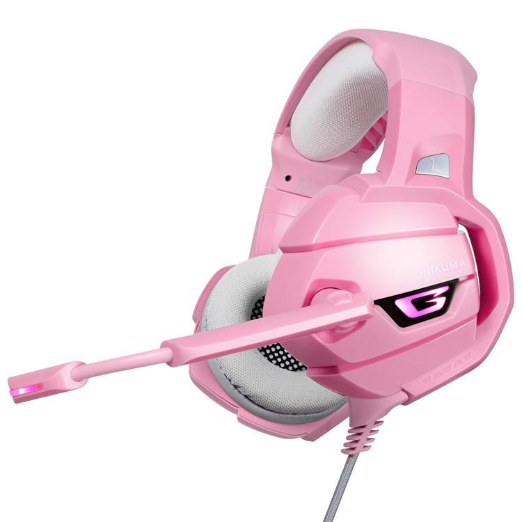 El juego de computadora más vendido de la reducción de ruido de la muchacha 2019 llevó las auriculares estéreo del teléfono móvi