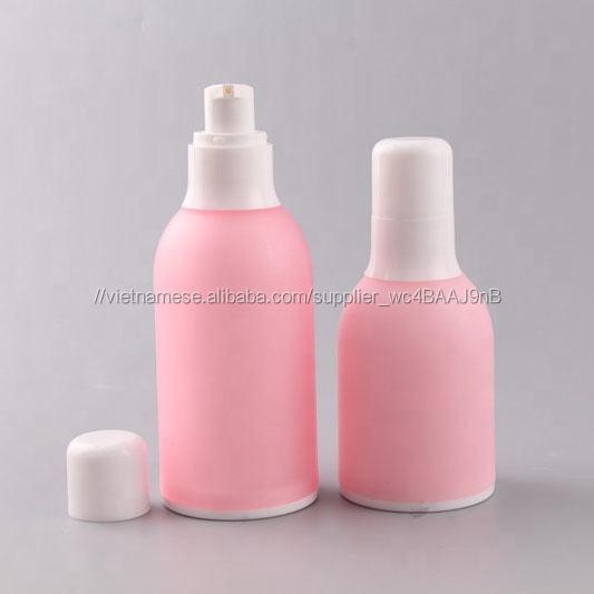 Giá rẻ PP jar và chai set mỹ phẩm bao bì cho cá nhân sản phẩm chăm sóc da