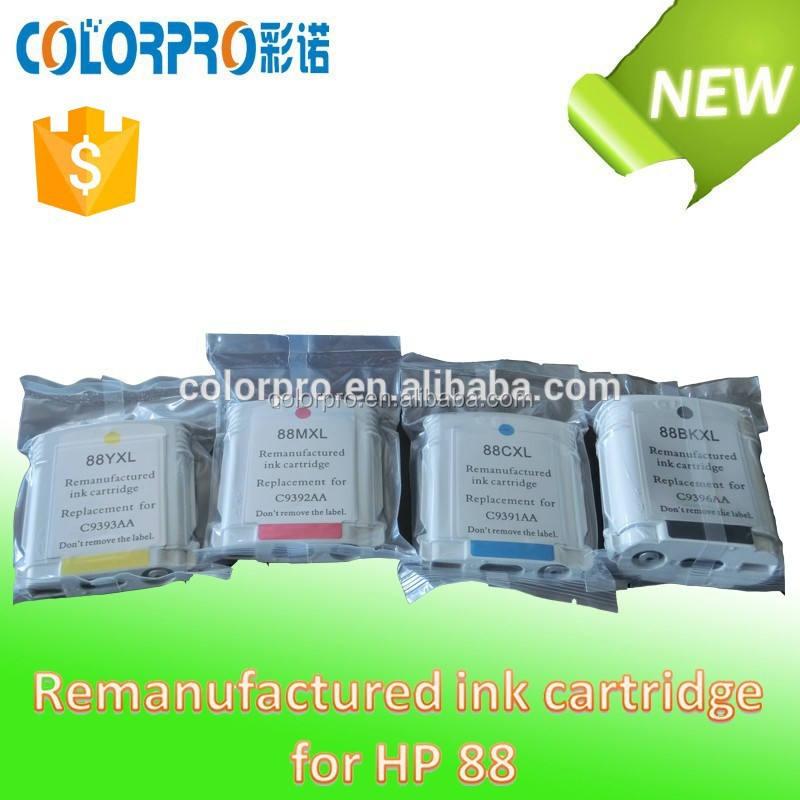 Cartucho de tinta remanufacturados para <span class=keywords><strong>hp</strong></span> para 88 l7380/l7480/l7580/l7590/l7680/l7780