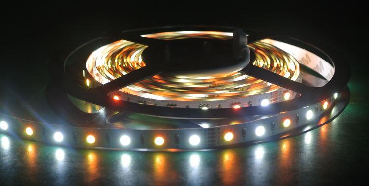 Sensor de movimiento llevó la luz de tira SMD5050 brillo tira llevada luz portátil led cuttable tiras de luz para la decoración