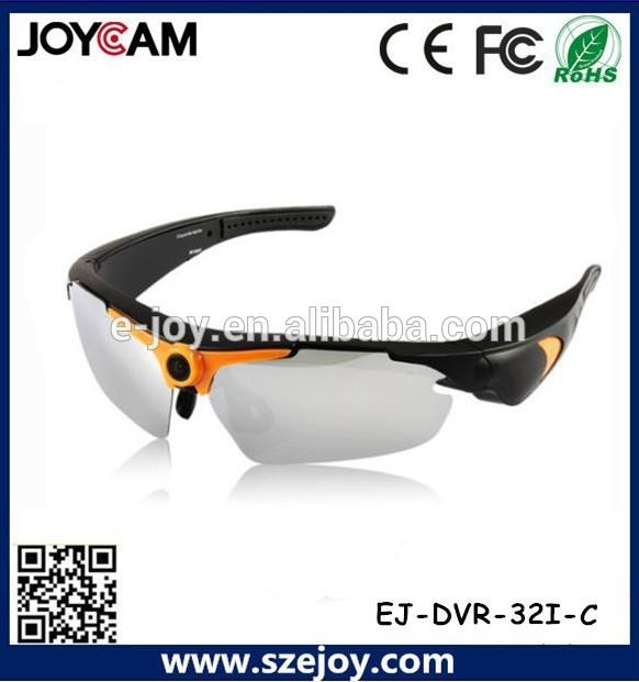 2015 nouvelle EJ-DVR-32I-C promotion cadeau VGA 640 * 480 lunettes de soleil appareil photo