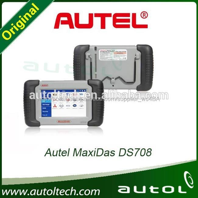 Atacado 100% Original <span class=keywords><strong>autel</strong></span> maxidas ds708 diagnóstico multi car scanner de garantia de qualidade à venda quente