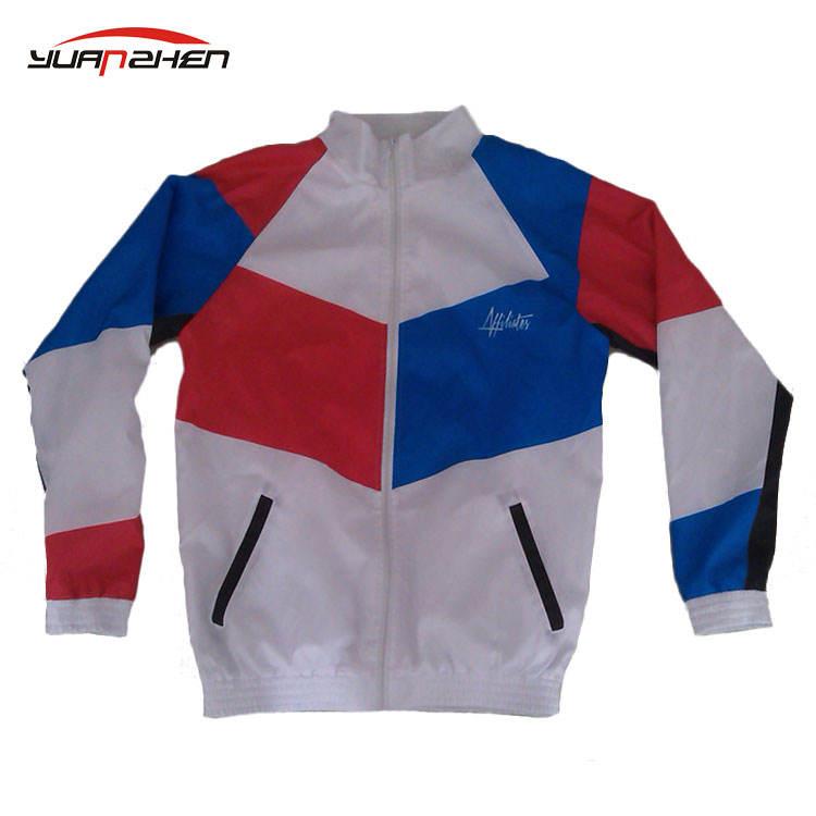 Пользовательские спорта ветрозащитная куртка как ваш дизайн