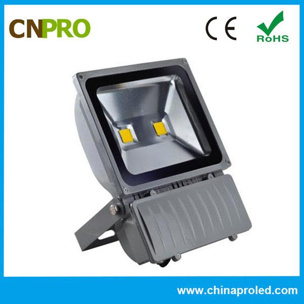 Открытый люменов 100 Вт светодиодный прожектор AC160-265V 2 года гарантии