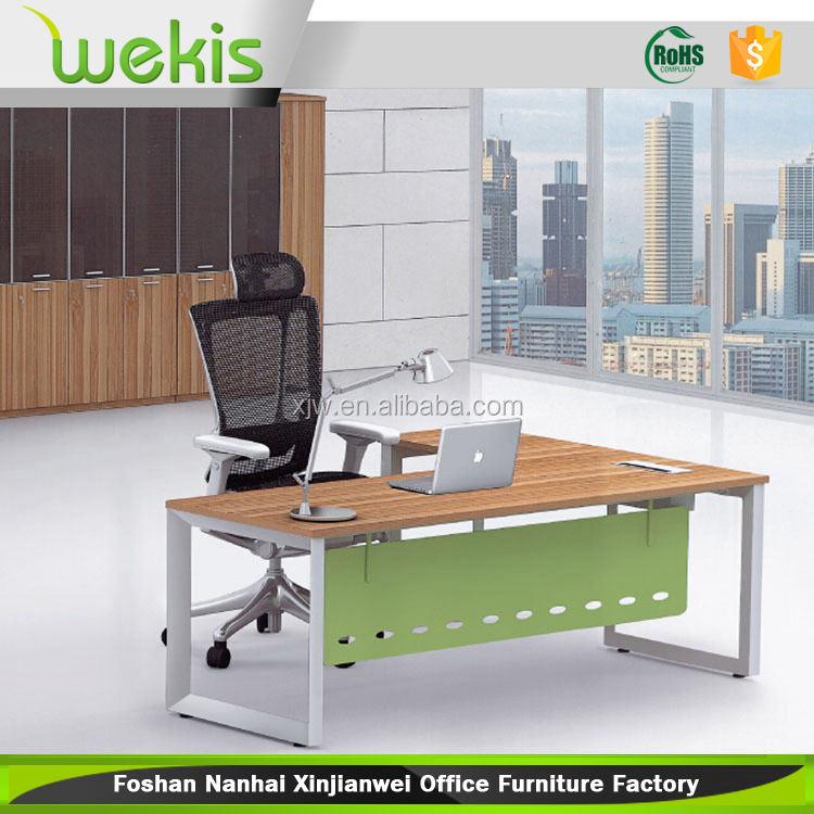 maßgeschneiderte ergonomische moderne hergestellt Manager bürotische mit tischgestell