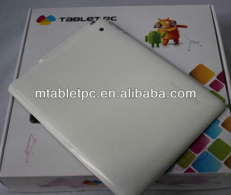 9.7 polegada tablet pc 3g telefonema a10 android cpu 4.0 os 1gb 8gb tablet pc