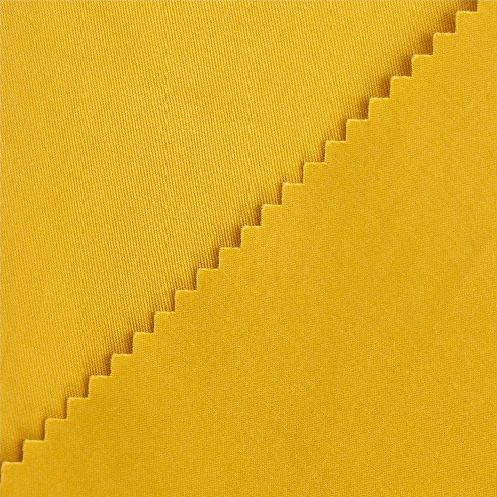 60 * 40 + 40D / 235x120 260gsm 154cm sarı saten saten kumaş bedford pantolon için pamuklu kumaş