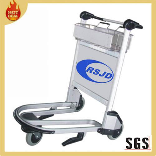 3 колеса алюминия аэропорт багажа корзина