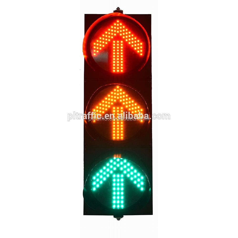 安いポータブル交通光交通標識赤黄色と緑カウントダウンタイマー