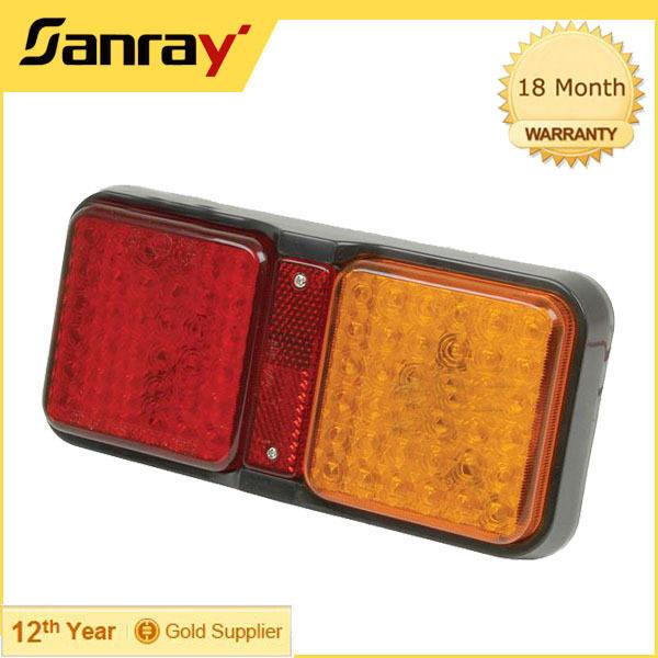2.5 Вт 12 В водонепроницаемый IP67 led прицеп включите свет водить грузовик лампы маркера хвост лампы