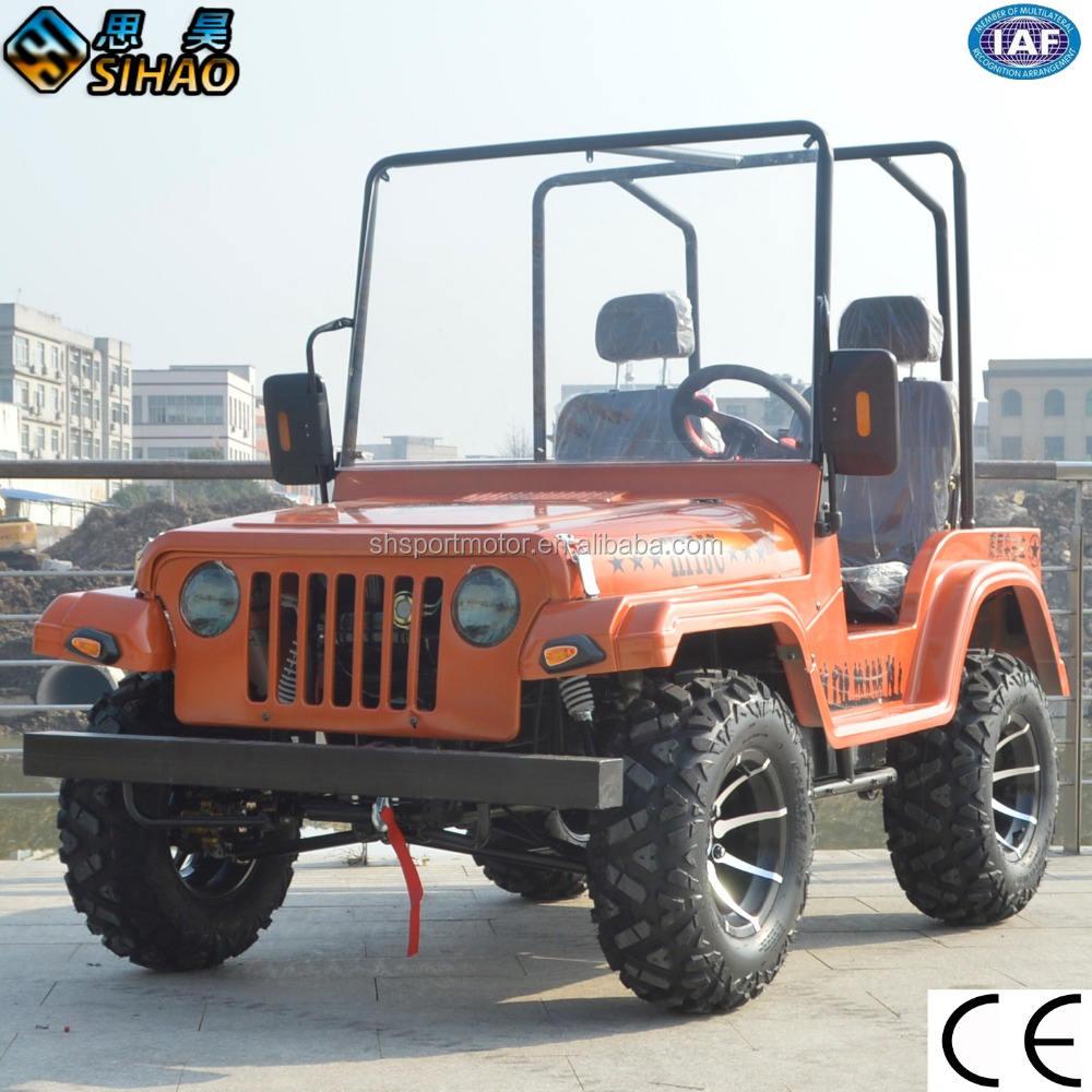 250cc/200cc jeep wrangler et mini jeep de haute qualité go kart