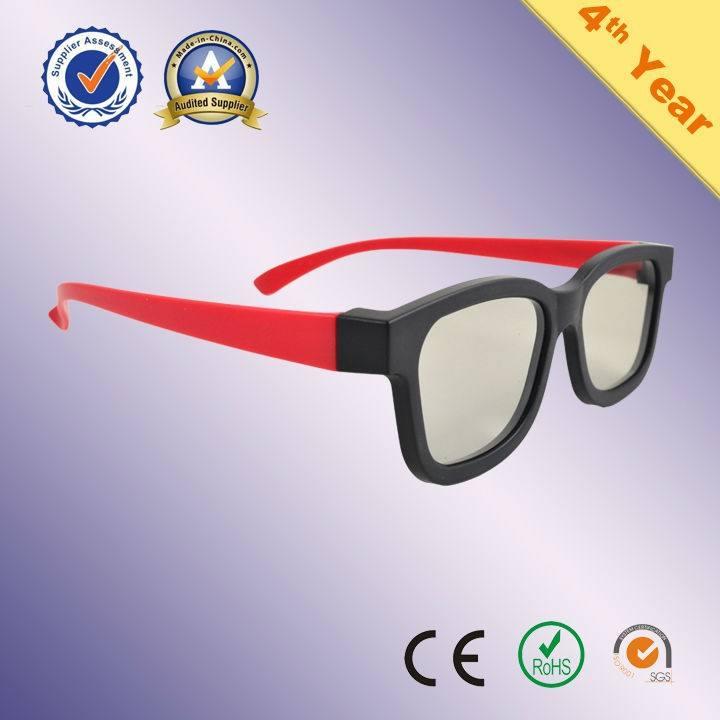 Novedad plástico polarizadas Realidad Virtual 3D gafas de vídeo