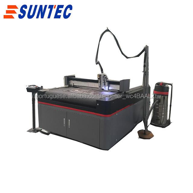 Digital plotter de corte oscilante máquina de corte para MDF acrílico plástico couro cardbox ondulado