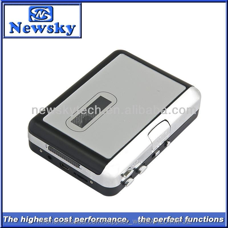 Haute qualité magnétophone <span class=keywords><strong>convertir</strong></span> Audio de bande de MP3 Supoort 2 * AA batterie ou opération alimenté par