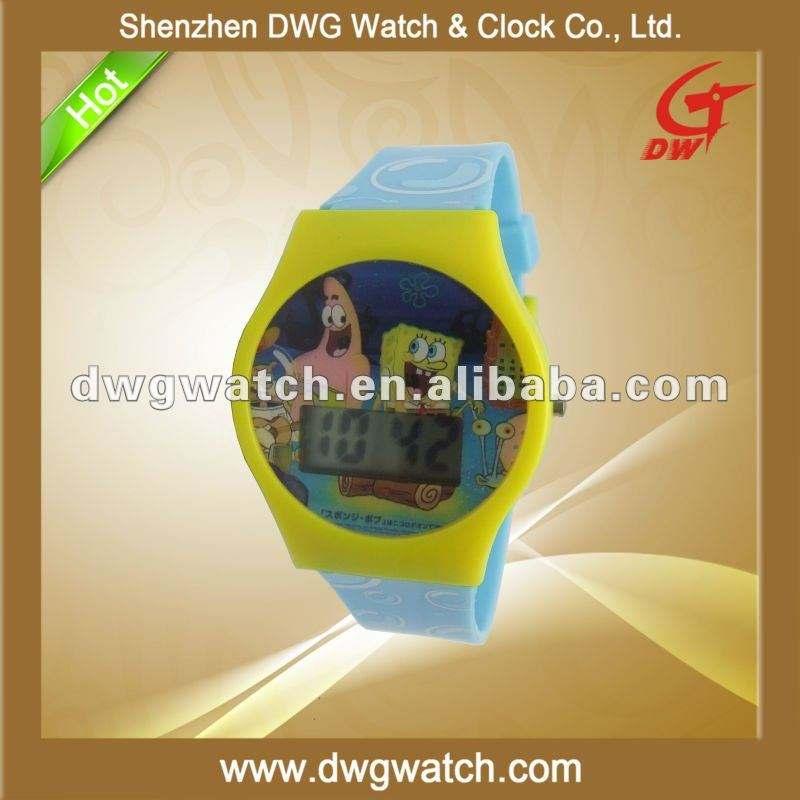 <span class=keywords><strong>Chronomètre</strong></span> numérique avec qualité en plastique bande DWG--D0016-1