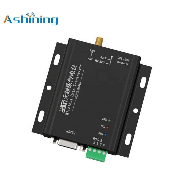 50mW 2.5Km Emetteur-récepteur de données sans fil 433M RS485 RS232
