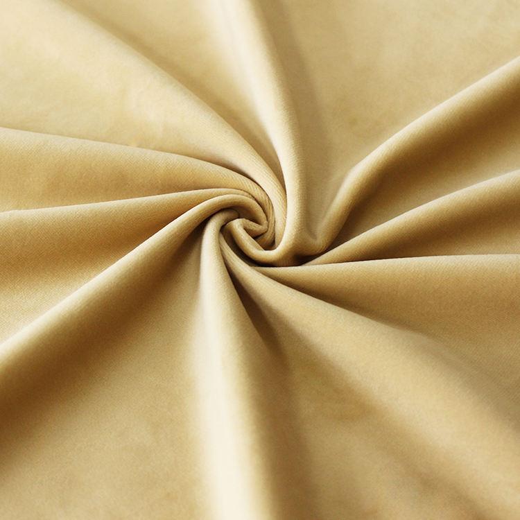 Rendimiento tela para prendas hecho en China juguete manta terciopelo ropa de poliéster tela