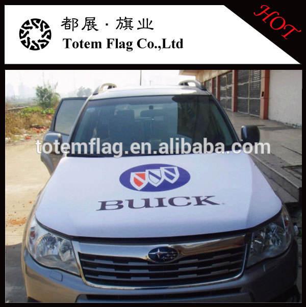 spandex полиэфира материал автомобиля капот двигателя флаг