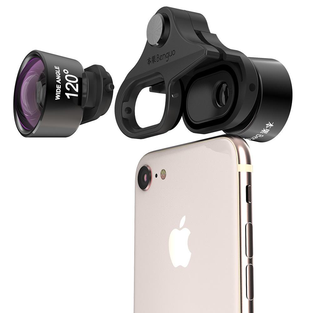 Benguo пользовательские клип телефото <span class=keywords><strong>2X</strong></span> зум сотовый телефон Объективы для фотоаппаратов