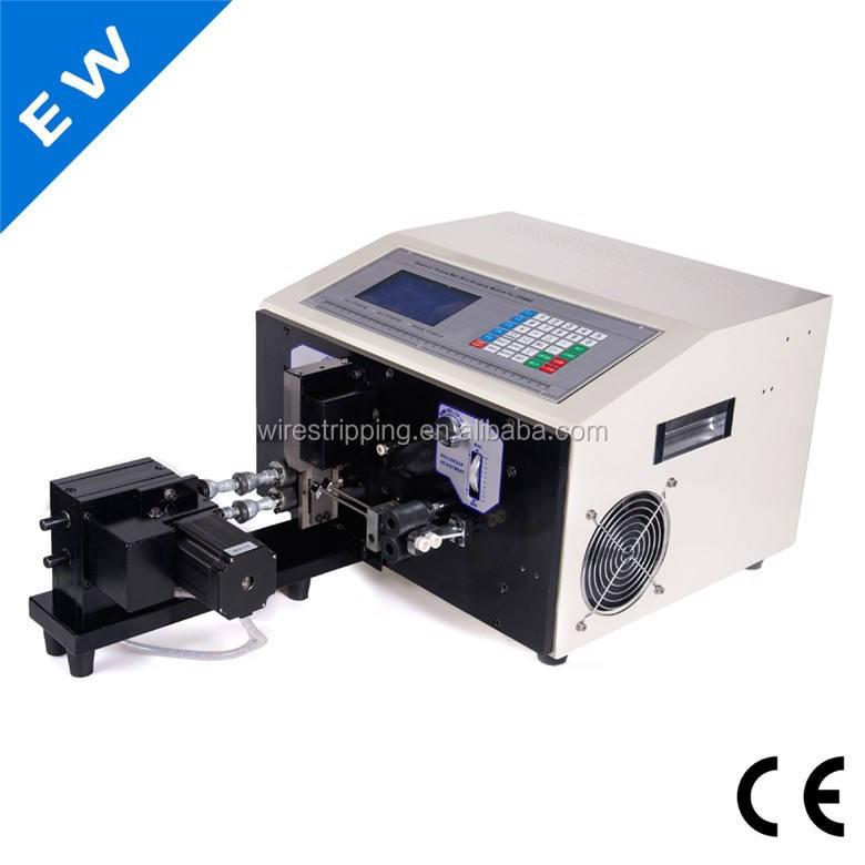 ew-07b الملتوية آلة الأسلاك تجريد، آلة اللف الصفحات الأسلاك قصيرة جدا، يمكن الملتوية أقصر 28 30 إلى مم