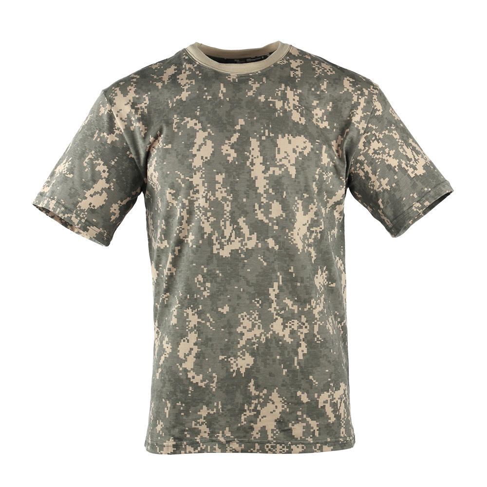 Militaire T-shirts Patroon Digitale Camouflage T-shirts Camouflage T-shirt