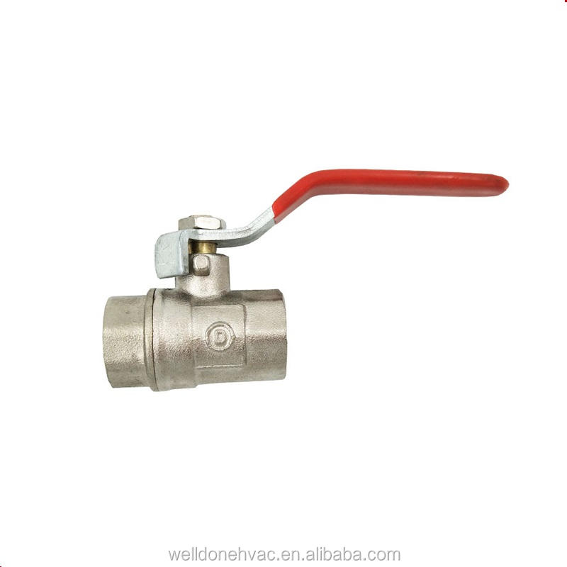 OEM/ODM dn20 válvula de bola welldone HVAC empresa en yuhuan China